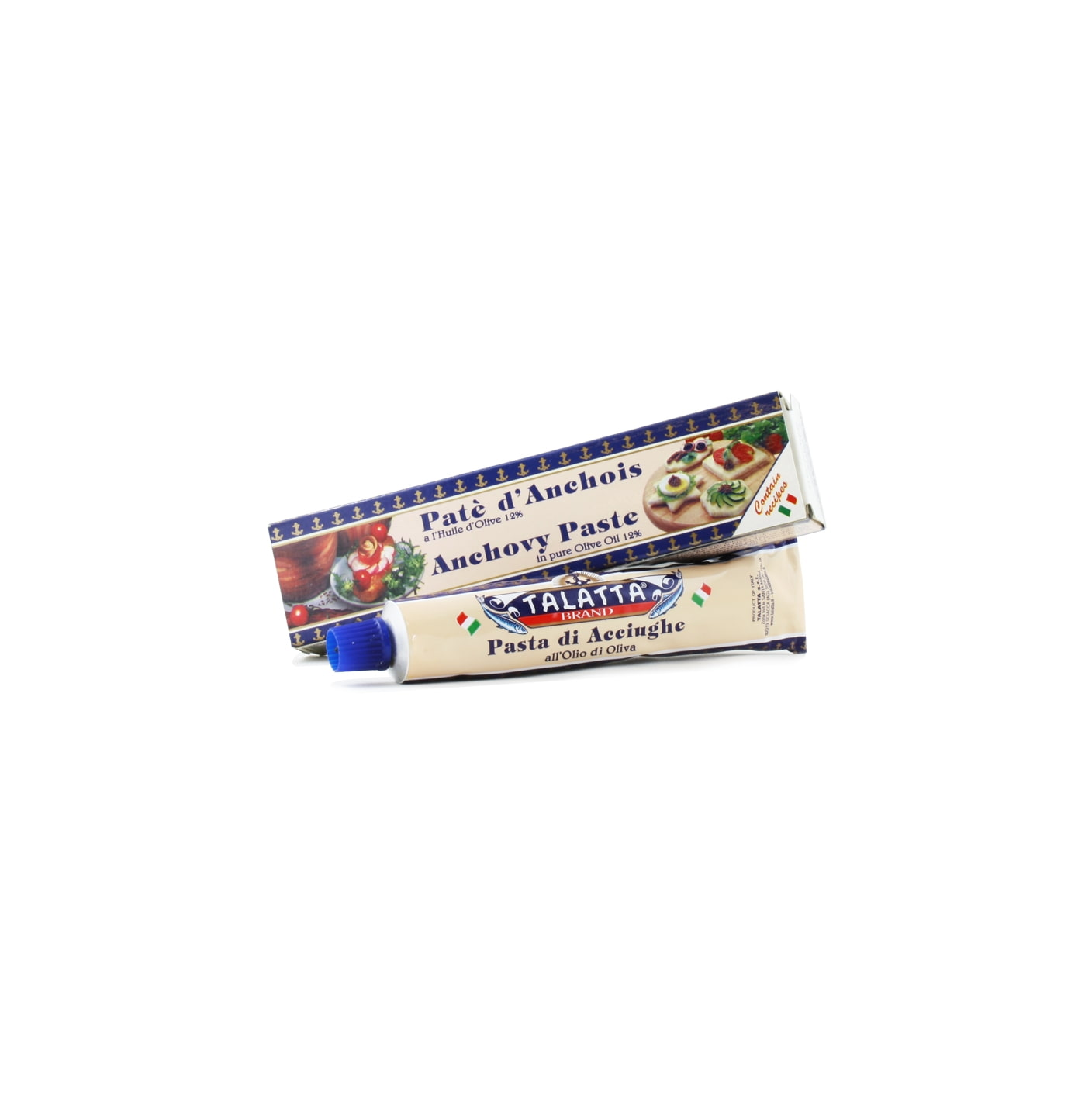 Italian Anchovy Paste in pure Olive Oil 60g