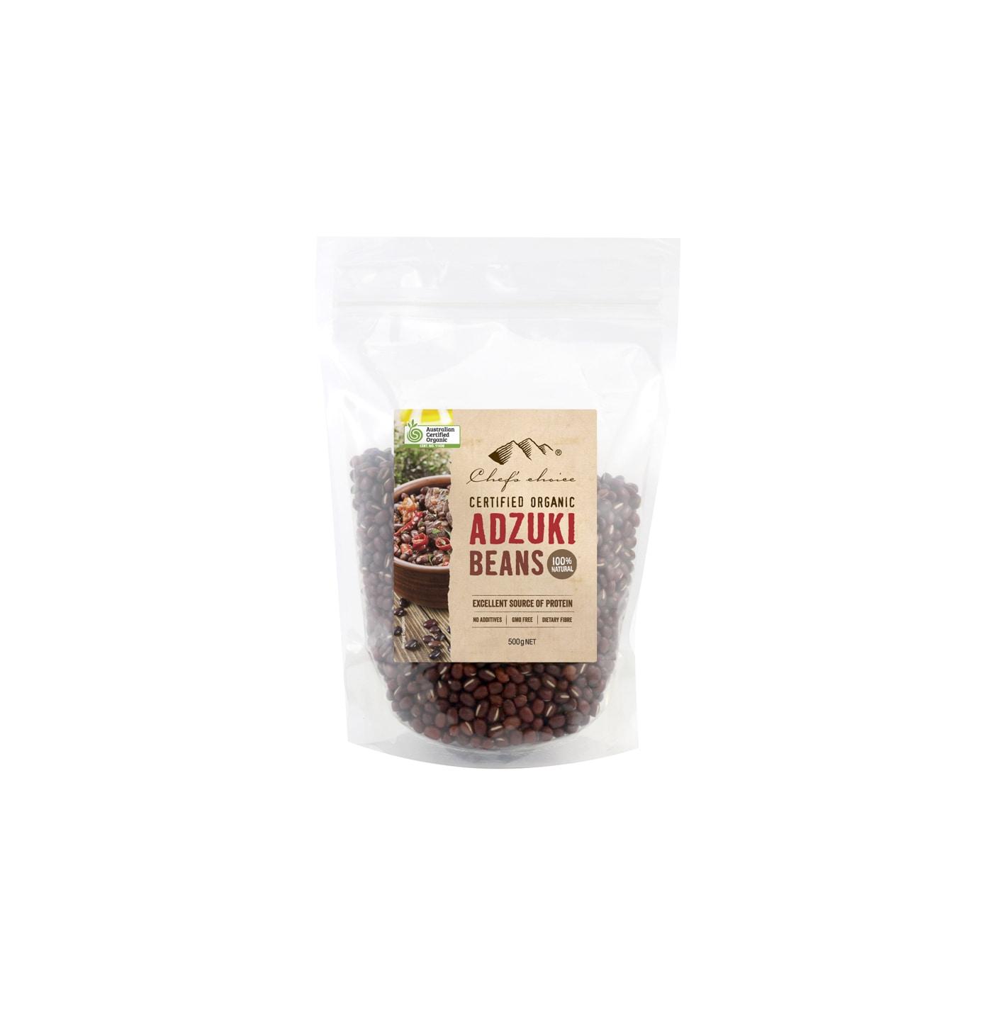 Organic Adzuki Beans 500g