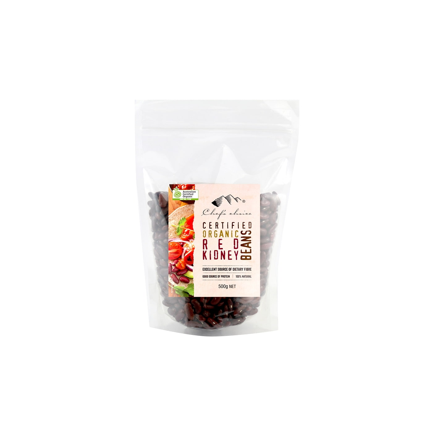 Organic Red Kidney Beans 500g