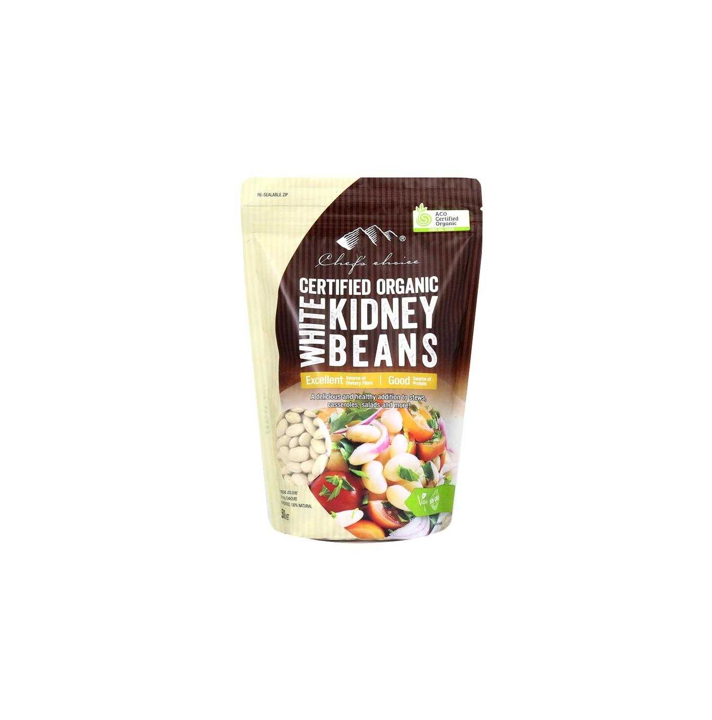 Organic White Kidney Beans 500g