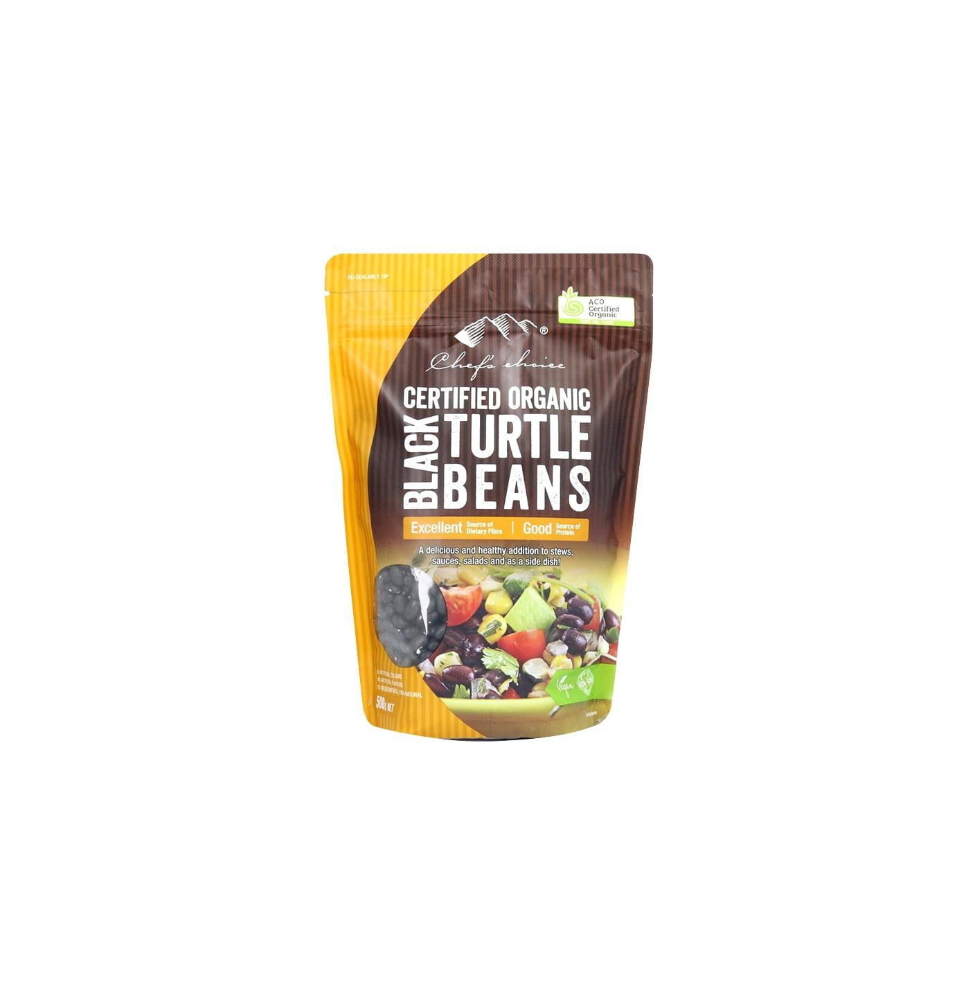 Organic Black Turtle Beans 500g