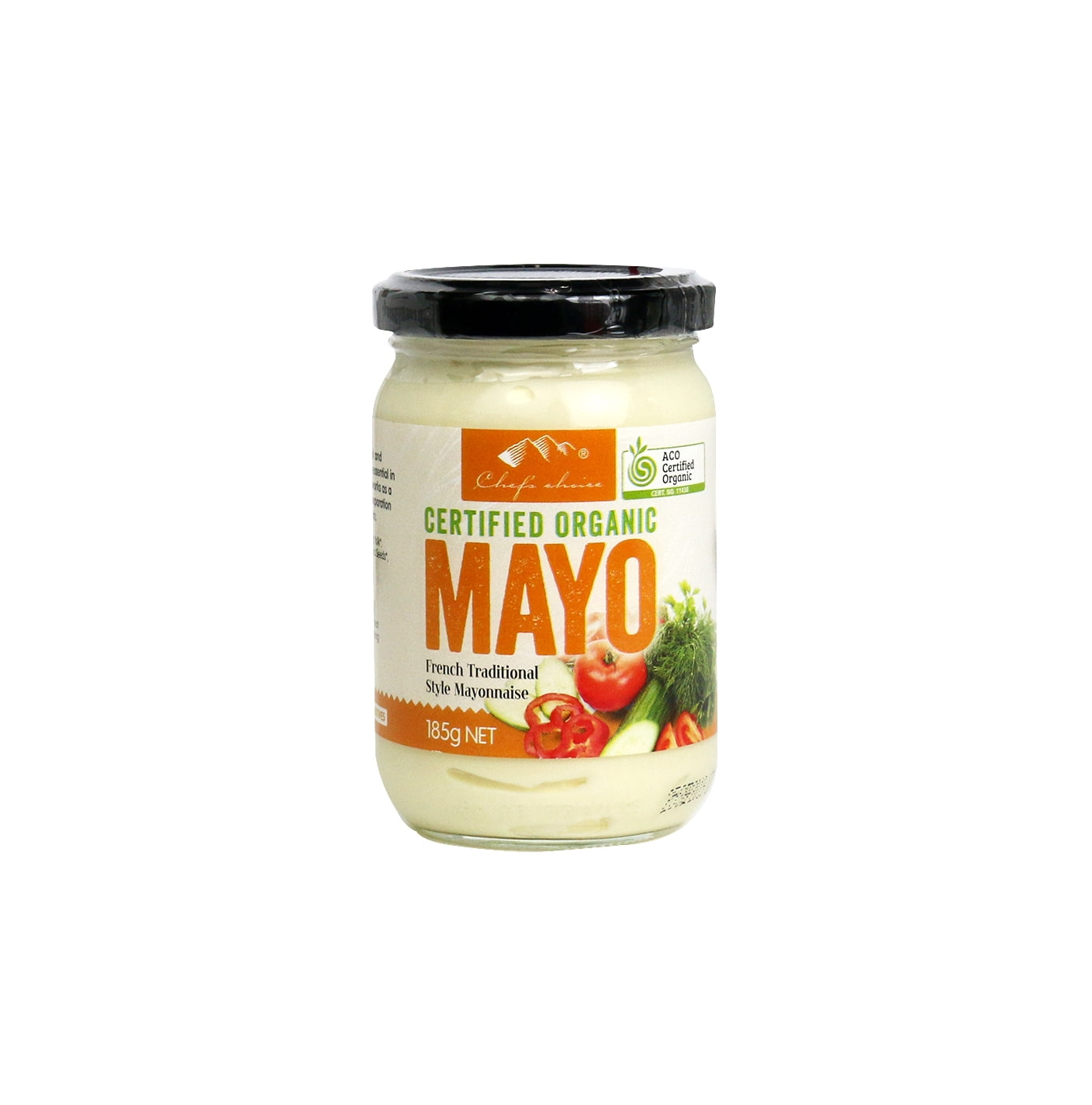 Organic Mayonnaise 185g