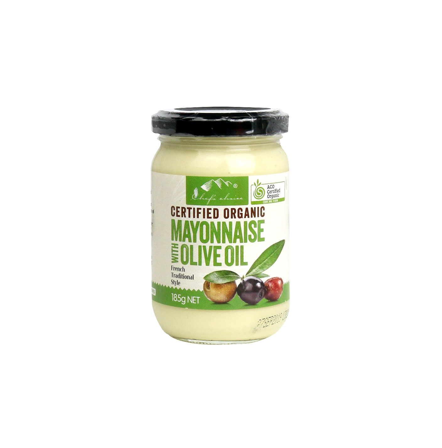 Organic Mayonnaise with Olive Oil 185g