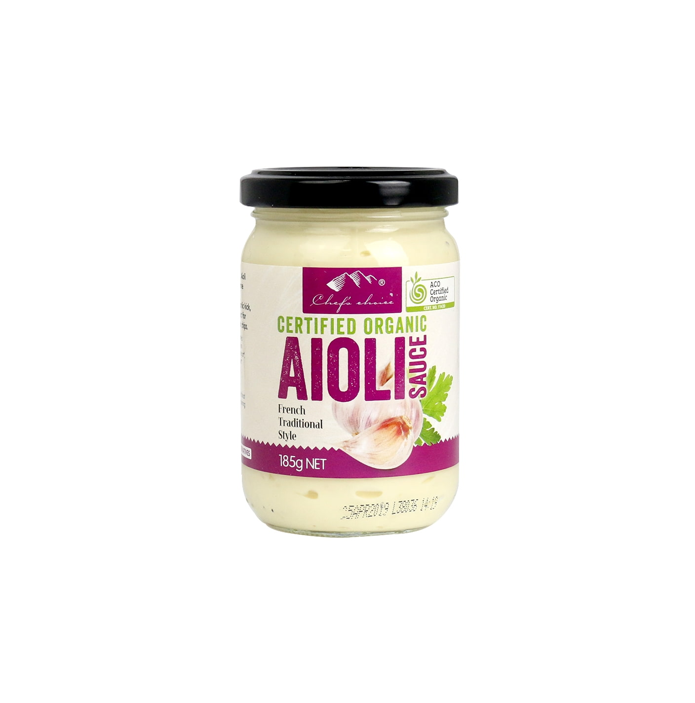 Organic Aioli Sauce 185g
