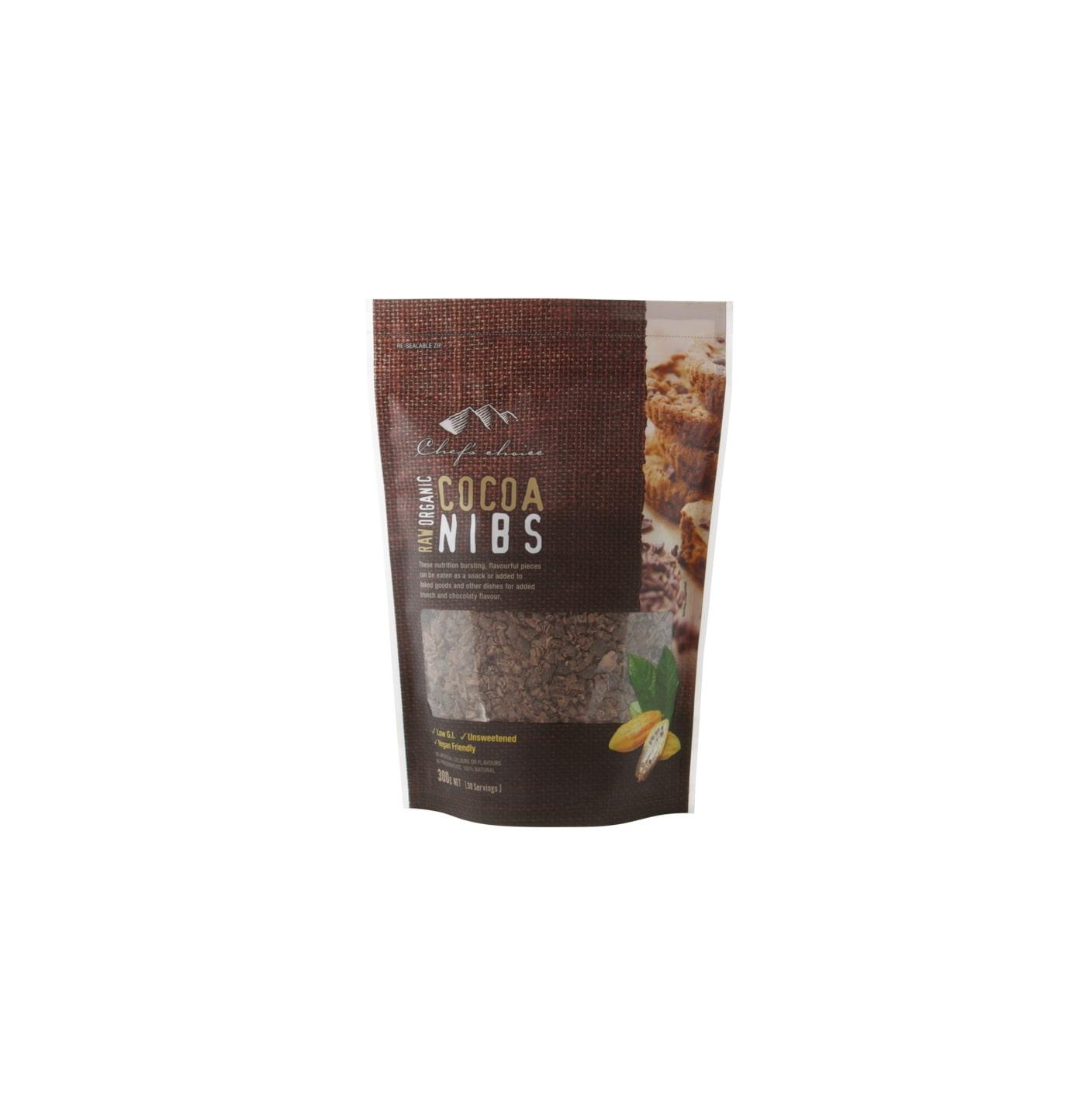 Organic Raw Cocoa Nibs 300g
