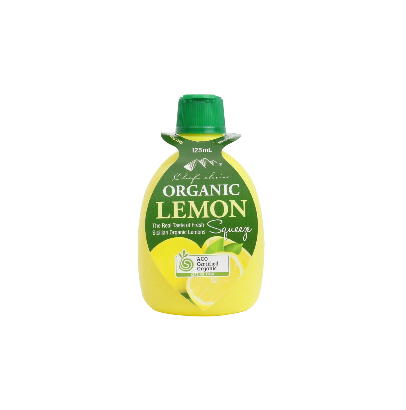 Organic Lemon Juice 125mL
