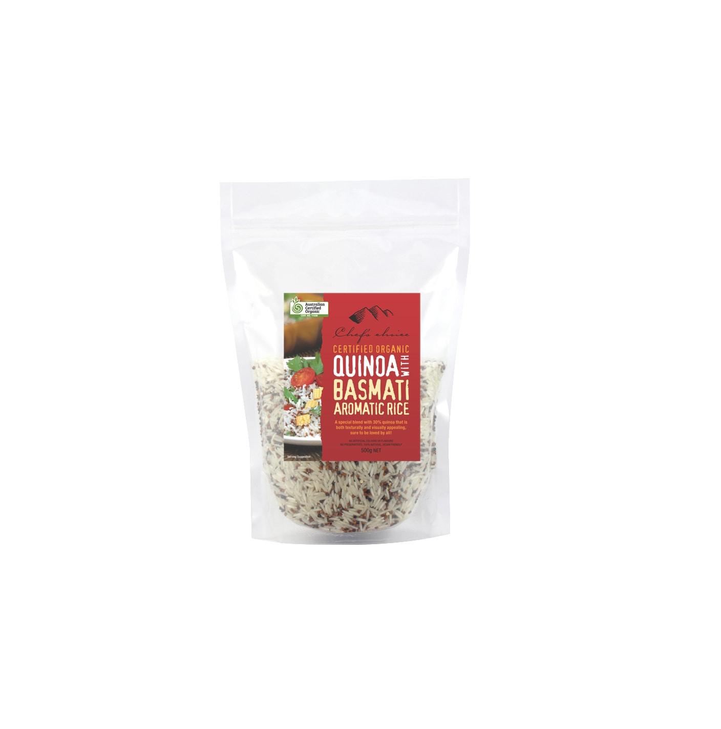 Organic Quinoa Rice 500g