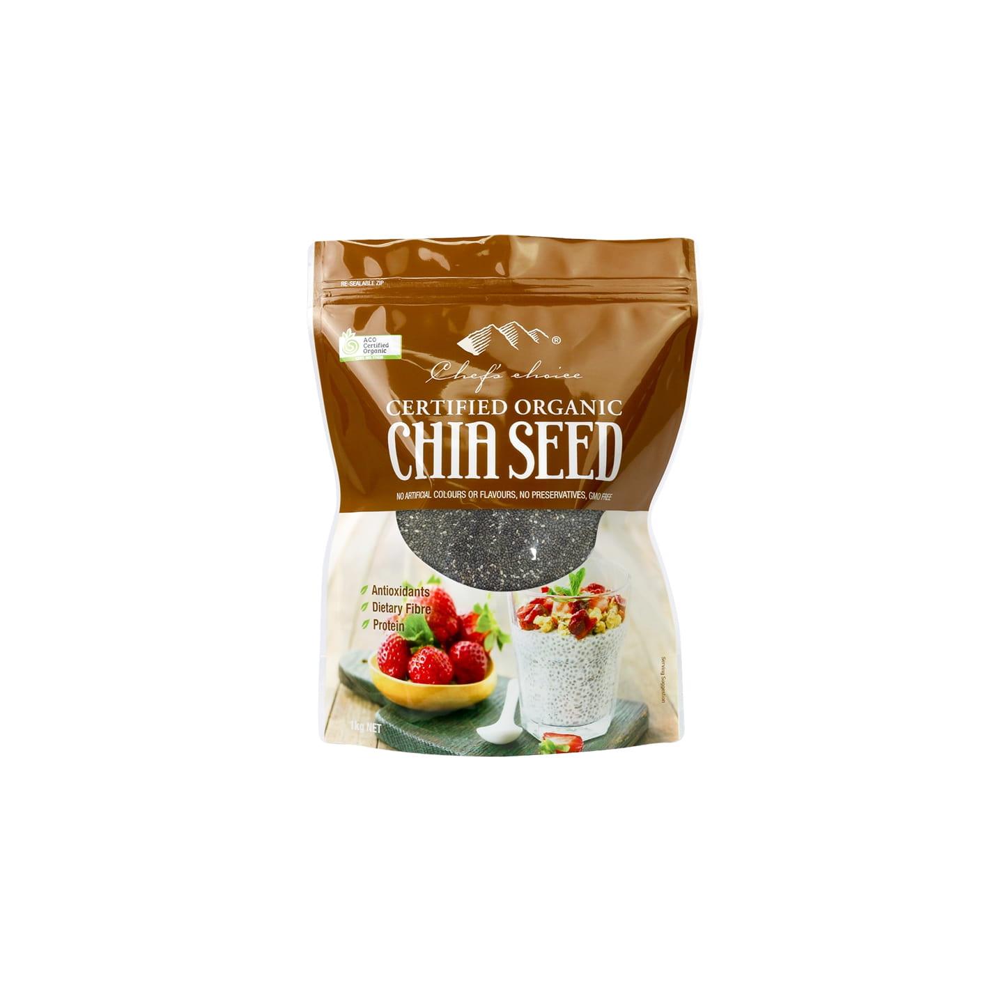 Organic Chia Seed 1Kg