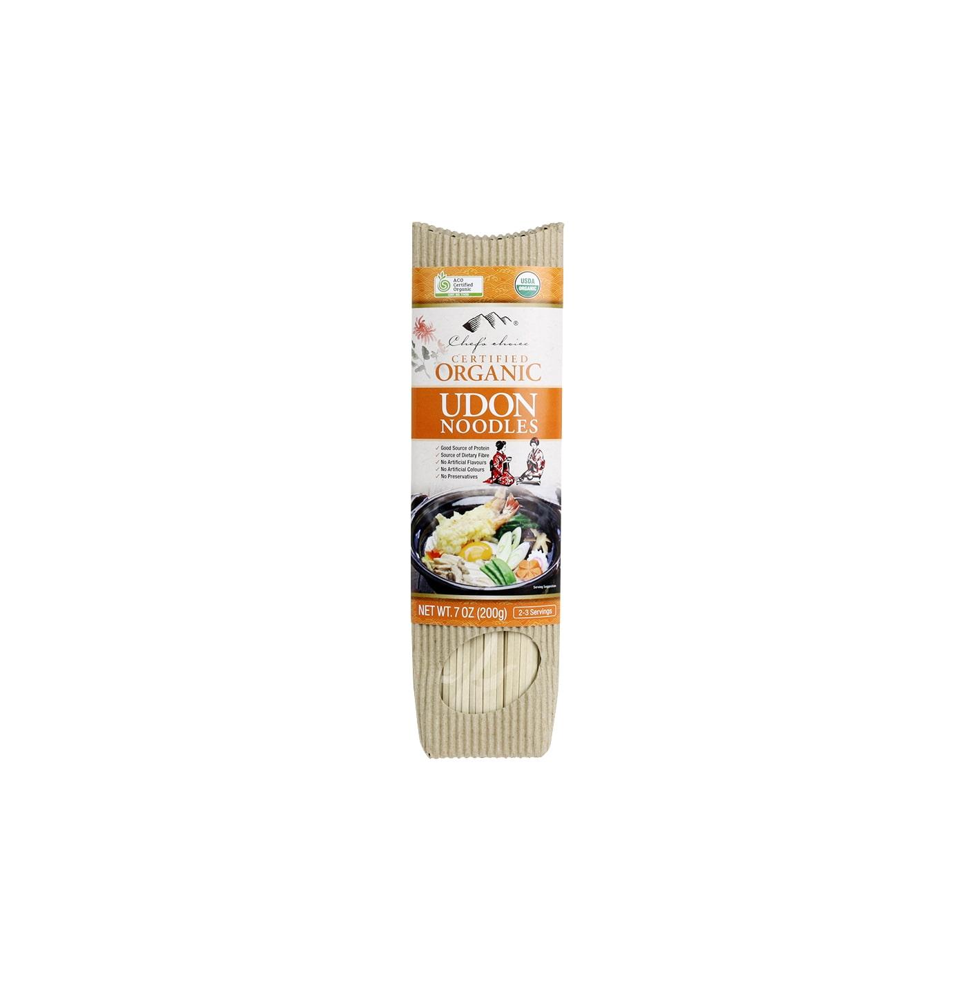 Organic Udon Stick Noodle 200g