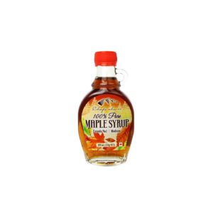 100% Pure Maple Syrup Glass Handled 189mL