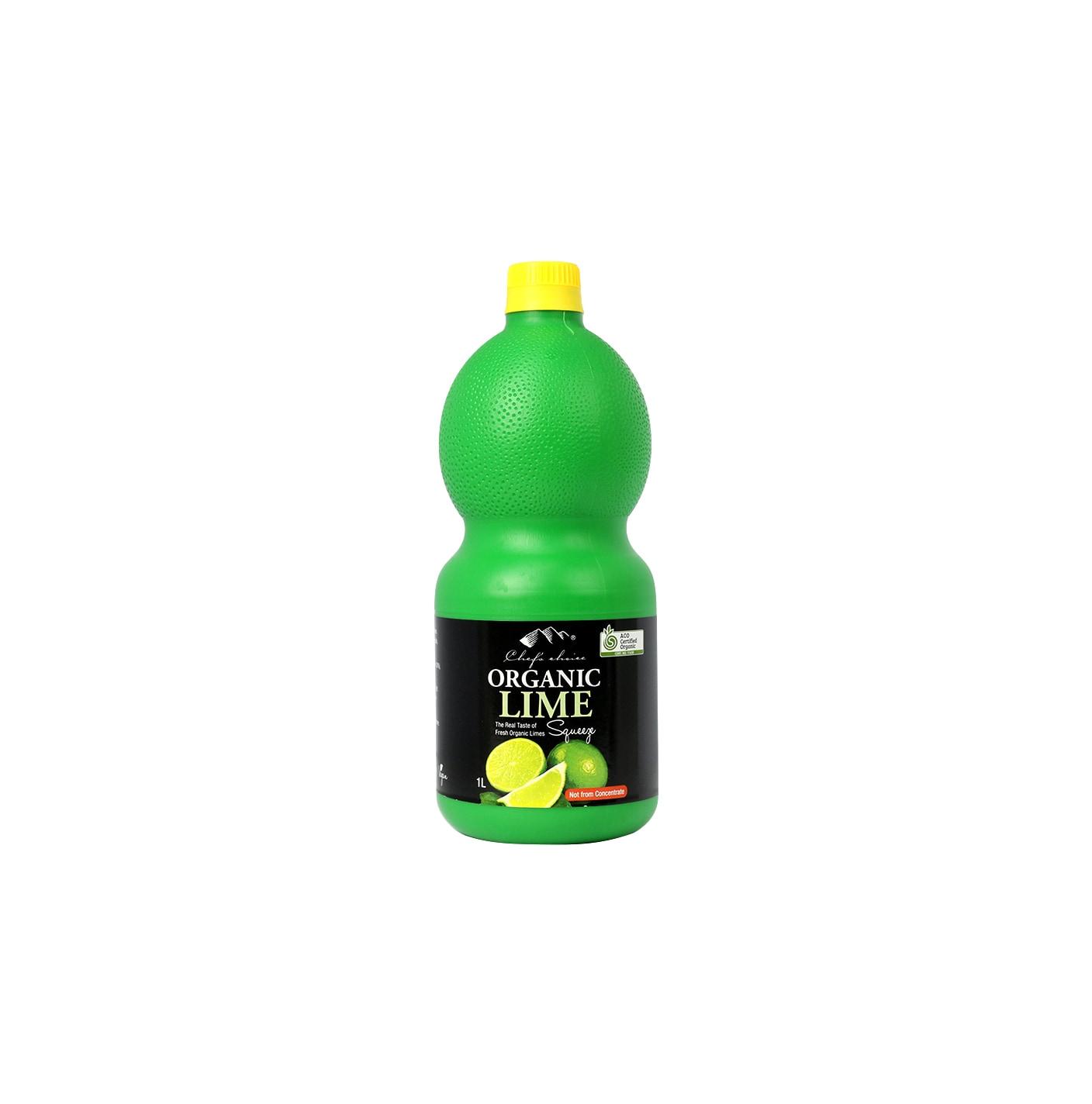 Organic Lime Juice 1L
