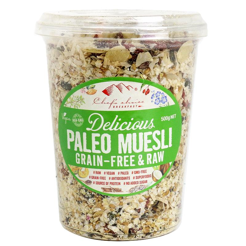 Paleo Muesli Grain-Free & Raw 500g