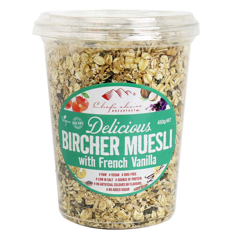 Bircher Muesli with French Vanilla 450g