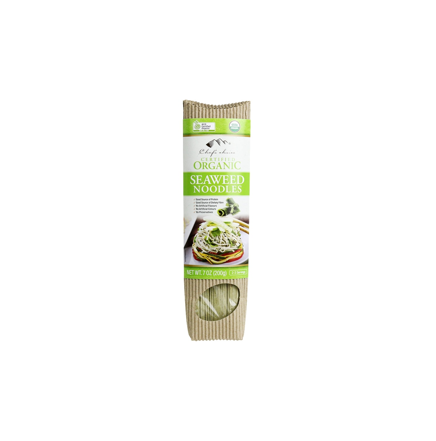 Organic Seaweed Stick Noodle 200g