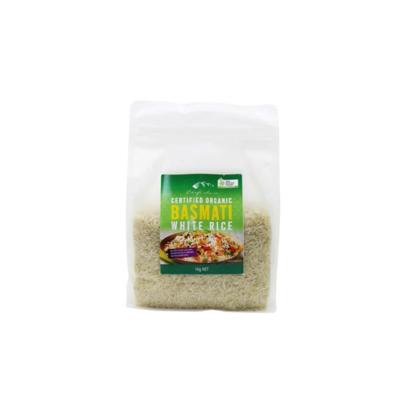 Organic Basmati Rice 1Kg