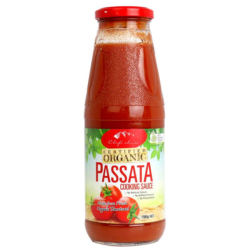Organic Plain Passata Cooking Sauce 690g
