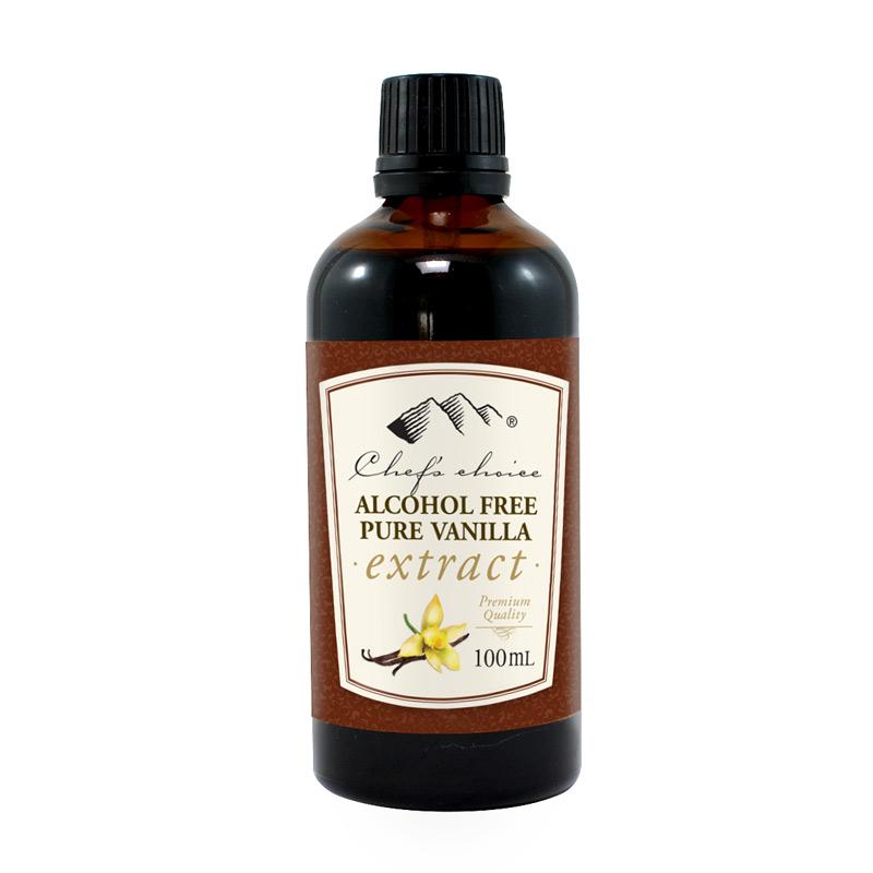 Alcohol Free Pure Vanilla Extract 100mL