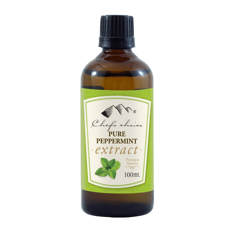 Pure Peppermint Extract 100mL
