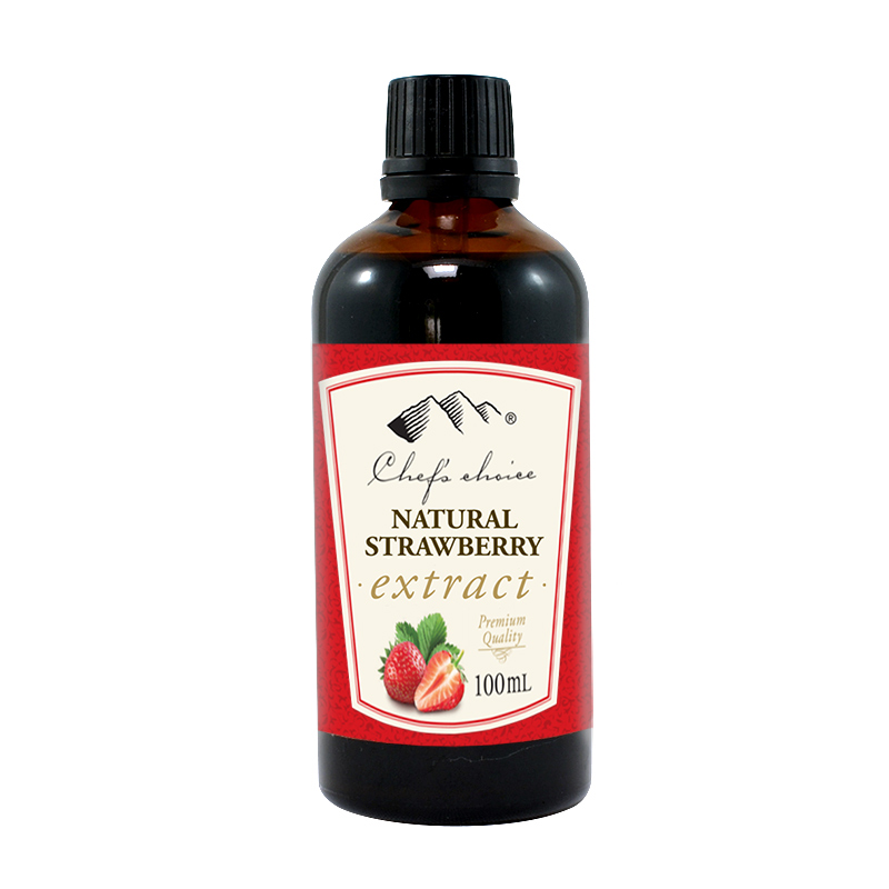 Natural Strawberry Extract 100mL