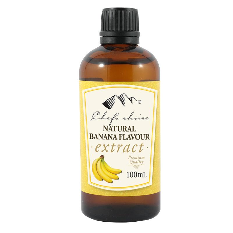 Natural Banana Extract 100mL