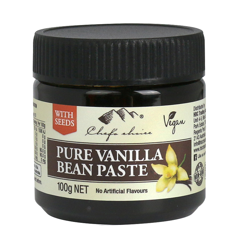 Chef's Choice Pure Vanilla Bean Paste with Seeds 100g