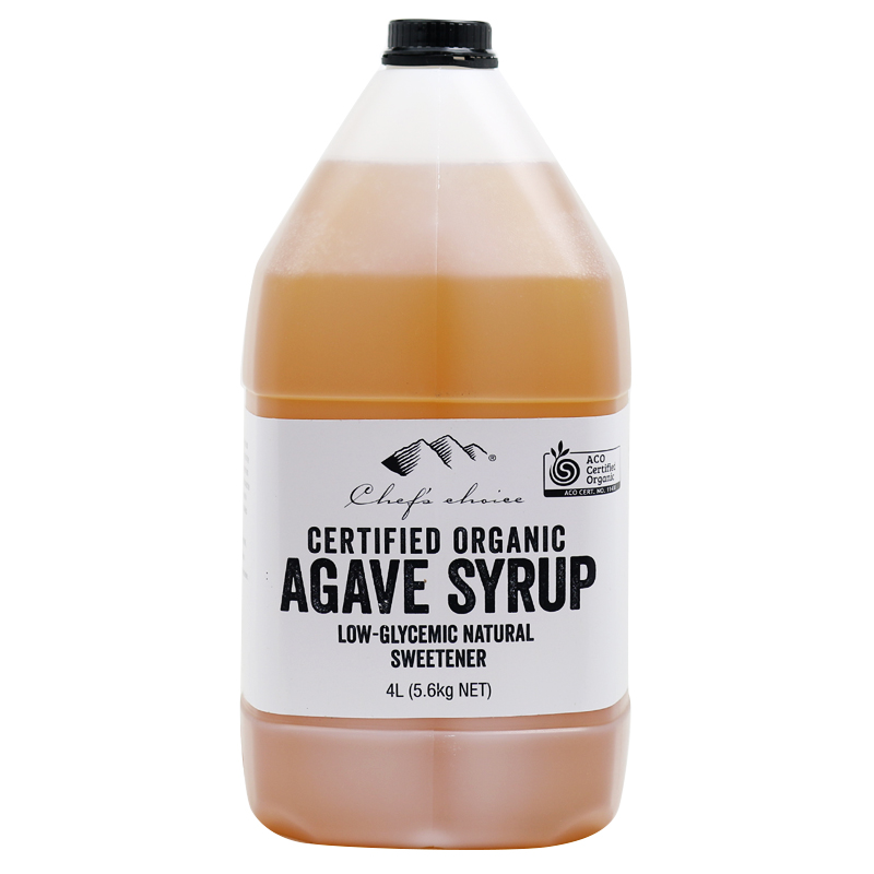 Pure Certified Organic Agave Syrup 4 Litre (5.6kg) Light