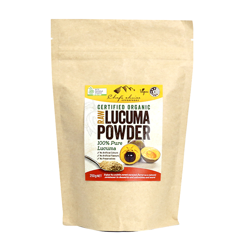 Chef's Choice Certified Organic Lucuma Powder 250g