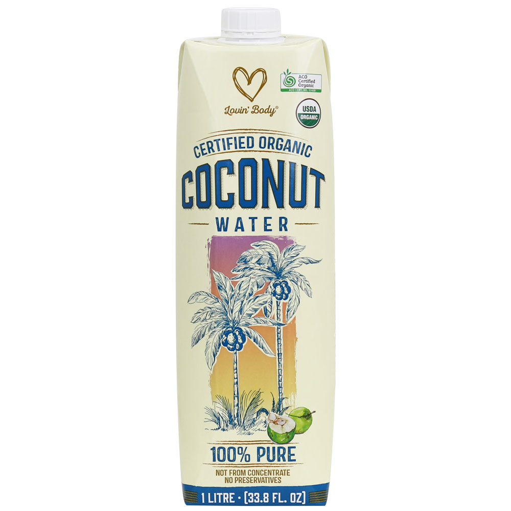 Lovin' Body Organic Coconut Water 1L